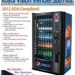 Pepsi – ADA RVV-500 Vendor Plus