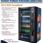 Pepsi – ADA RVV-500 Vendor Plus