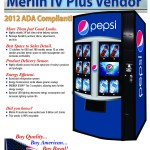 Pepsi – ADA Merlin IV Plus HVV Style Vendor